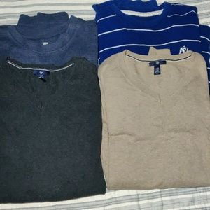 Bundle of 4 Long Sleeve Shirts Size all XXL